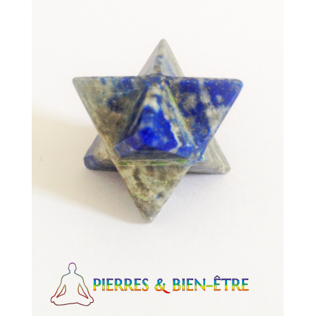 Merkaba Lapis lazuli