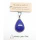 Pendentif goutte Lapis Lazuli en Argent