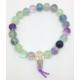 Bracelet Mala Fluorite