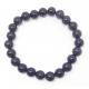 Bracelet Perles Obsidienne Oeil Céleste 8mm