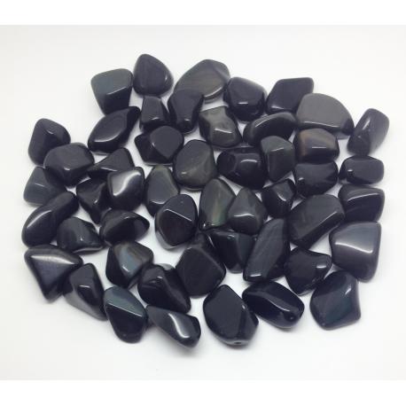 Pierres roulées Obsidienne oeil Céleste