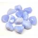 Pierres roulées Calcédoine bleue