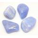 Galets Calcédoine bleue