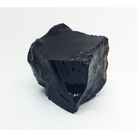 Obsidienne noire brute de Chine